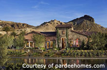 Bella Fiore is one of Lake Las Vegas' newest upscale residential communities