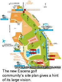 Escena Golf Club Homes Site Plan