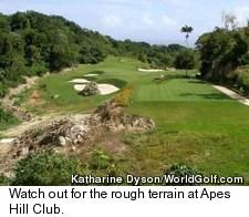 Apes Hill Club Golf Course - Rough Terrain