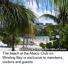 The Abaco Club on Winding Bay - Beach