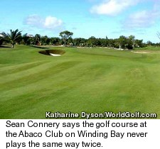 The Abaco Club on Winding Bay Golf Course
