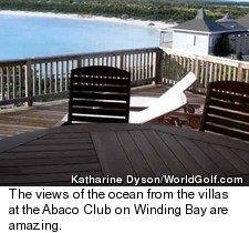 The Abaco Club on Winding Bay - View from Villa