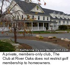 The Club at River Oaks in Sherman, Conn.