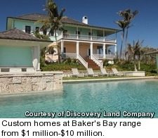 Baker's Bay - custom home