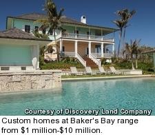 Baker's Bay - custom home