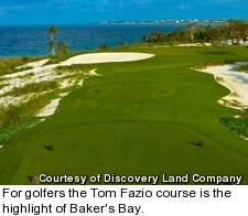 Baker's Bay golf course - hole 15