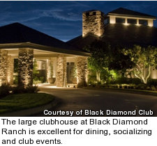 Black Diamond Ranch - clubhouse