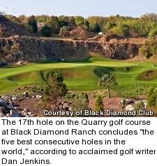 Black Diamond Ranch - Quarry golf course - hole 17