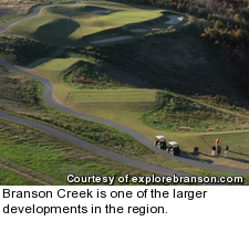 Branson Creek golf course - No. 2