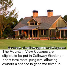 Mountain View Cottages at Callaway Gardens