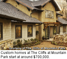Cliffs at Mountain Park - custom homes