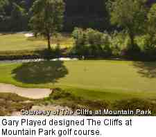 Cliffs at Mountain Park golf course