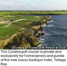 Corales golf course at PuntaCana resort - hole 17