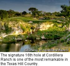 Golf course at Cordillera Ranch