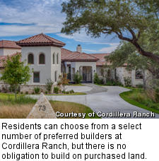 Winged Foot house at Cordillera Ranch