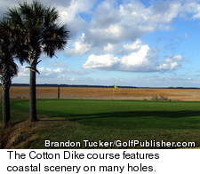Cotton Dike Golf Course - Coastal View