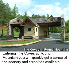 The Coves at Round Mountain Golf Community