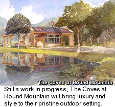 The Coves at Round Mountain Golf Community - Homes