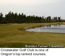 Crosswater Golf Club in Oregon