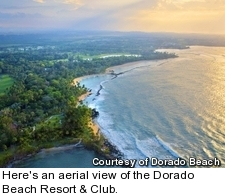 Dorado Beach Resort & Club - aerial