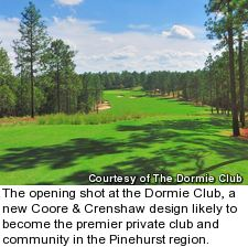 Dormie Club golf course