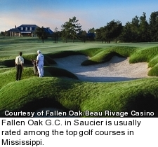 Fallen Oak golf course