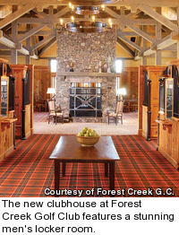 Forest Creek Golf Club - locker room