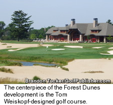 Forest Dunes Golf C - Clubhouse