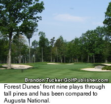 Forest Dunes Golf Club - Front Nine