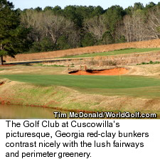 The Golf Club at Cuscowilla - Hole 3