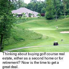 Golf Course Real estate