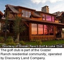 Gozzer Ranch Golf and Lake Club - community