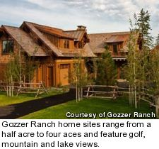 Gozzer Ranch Golf and Lake Club - Lookout Lodge