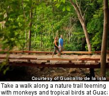 Guacalito de la Isla - hiking