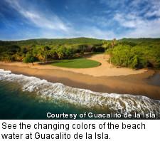Guacalito de la Isla - ocean