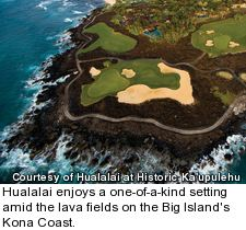 Hualalai resort - golf courses