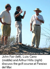 John Fair, Luis Cano and Arthur Hills