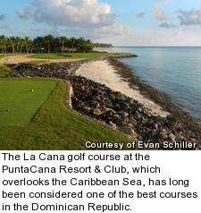 La Cana golf course at PuntaCana resort - hole 5
