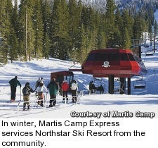 Martis Camp in Truckee, California