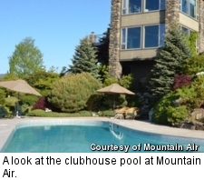 Mountain Air - clubhouse pool