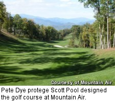 Mountain Air - golf course