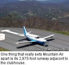 Mountain Air - runway