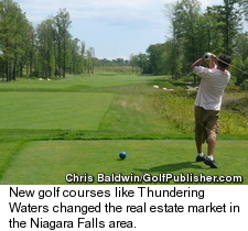Niagara Falls Golf Real Estate - Thundering Waters