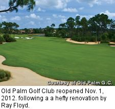 Old Palm golf course