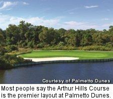 Palmetto Dunes - Arthur Hills Course - hole 16