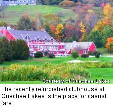 Quechee Lakes - clubhouse