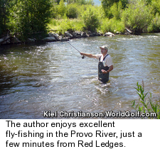 Fly-fishing in Utah