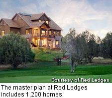 Red Ledges - custom homes