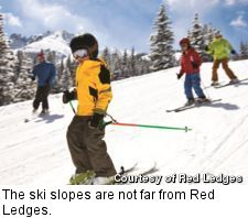 Red Ledges - skiing