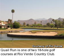 Quail Run at Rio Verde Country Club - hole 18